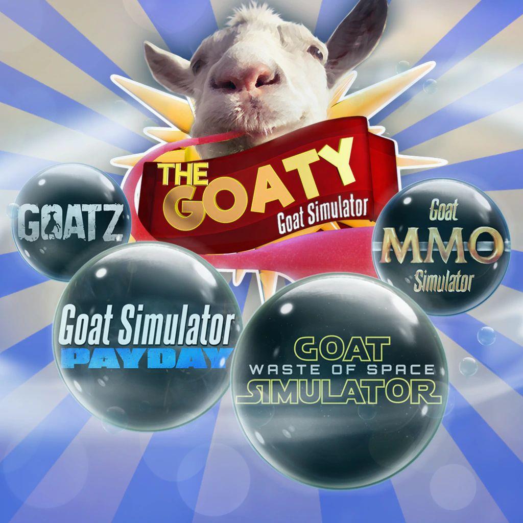 Jeu PS4 - Goat Simulator : The GOATY (PlayStation Store)