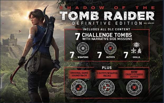 Jeu Shadow of the Tomb Raider : Definitive Edition sur PC (Dématérialisé, Steam)