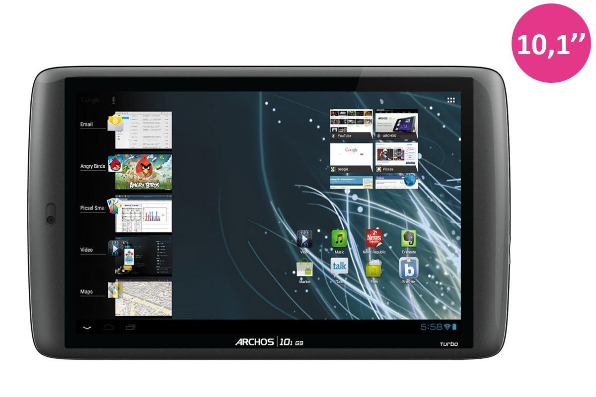 "Tablette Android 10.1"" - Archos 101 G9 turbo - 250 Go de stockage"