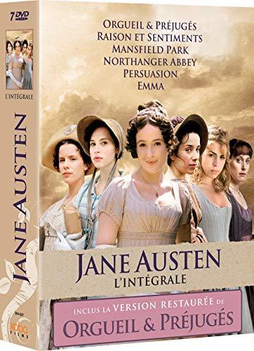 Coffret DVD : Jane Austen l'intégrale