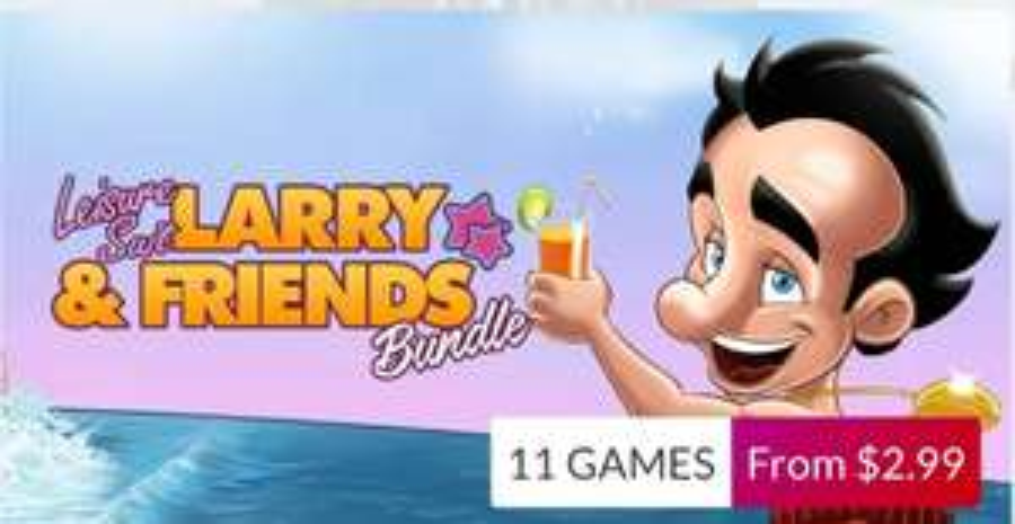 Larry and Friends Bundle sur PC - 11 jeux dont Leisure Suit Larry 1 à 7 (Steam - Dématérialisés)