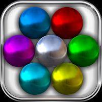 Sélection de 6 jeux de réflexion gratuits sur Android - Ex: Magnet Balls: Match-Three Physics Puzzle