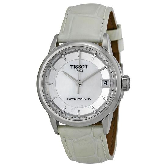 Montre automatique femme Tissot Powermatic 80 Mother of Pearl Dial T0862071611100 (Frais d'importation inclus)