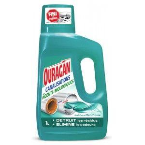 Nettoyant déboucheur canalisation Ouragan - 1L (Via 2.17€ sur la Carte de Fidélité)