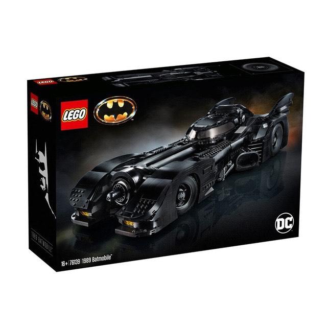 Lego DC Comics Super Heroes 76139 - 1989 Batmobile