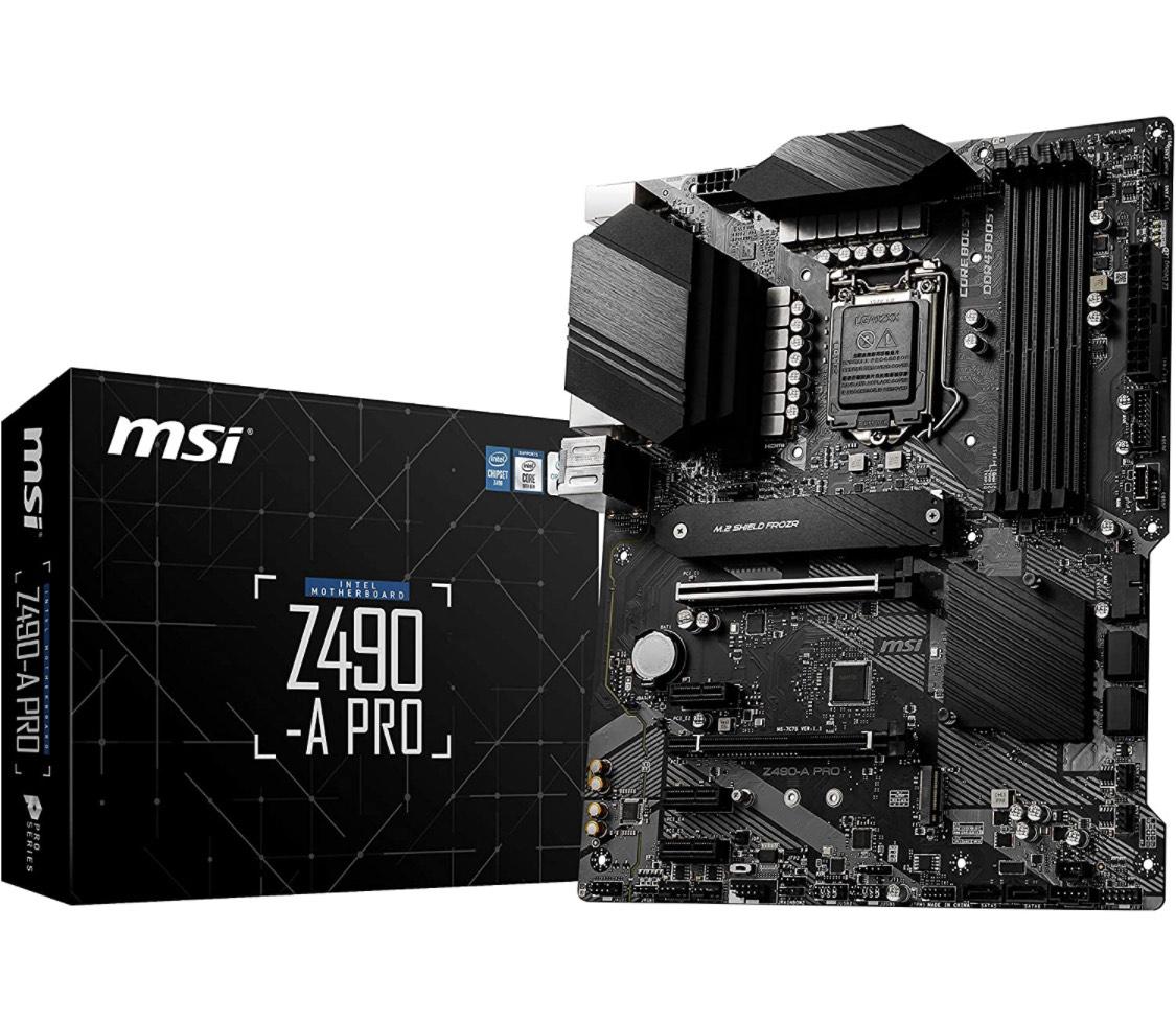 Carte mère MSI Z490-A Pro - ATX