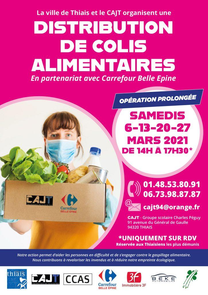[Thiaisiens] Distribution Gratuite de Colis Alimentaires - Belle Épine - Thiais (94)