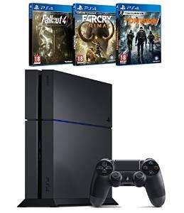 Pack Console PS4 1 To + The Division + Far Cry Primal + Fallout 4
