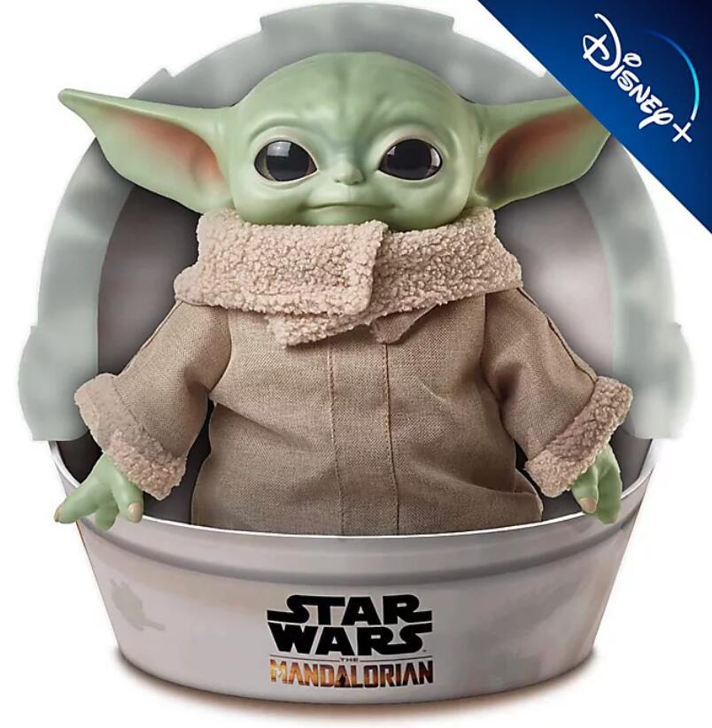 Bébé Yoda - Peluche Mattel Star Wars L'Enfant - 28 cm (Super Green Terville 57)
