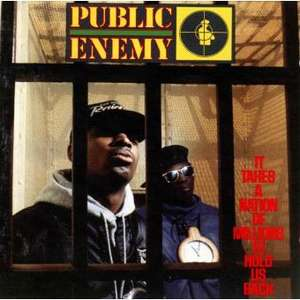Vinyle Public Enemy - It Takes A Nation Of Millions To Hold BACK RAP Us