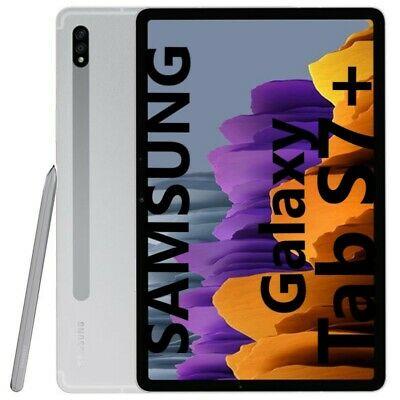 """Tablette 12.4"""" Samsung Galaxy Tab S7+ Plus T976 - 6 Go Ram + 128 Go Tablet WIFI+5G SILVER"""