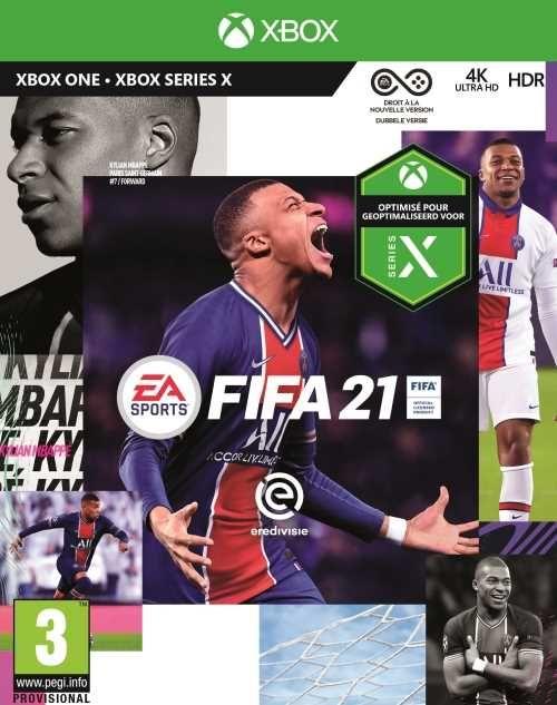 Jeu Fifa 21 sur Xbox One