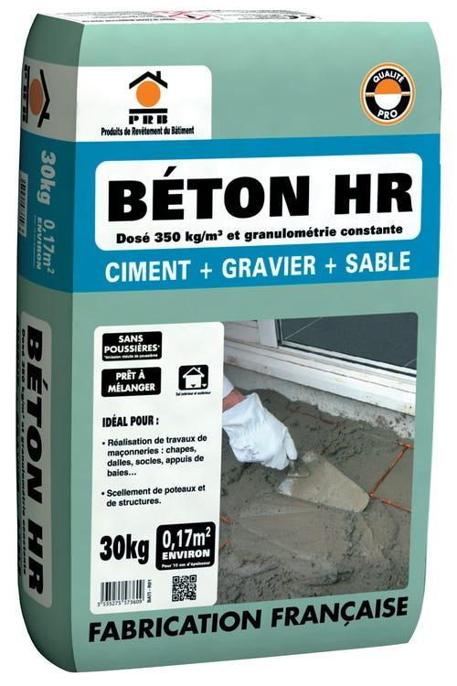 Sac de Béton sans poussière PRB 30kg - Gonesse (95)
