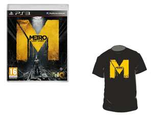 Metro Last Light + Tee-Shirt Collector sur PS3, XBOX 360, PC (29.99€ via Buyster)