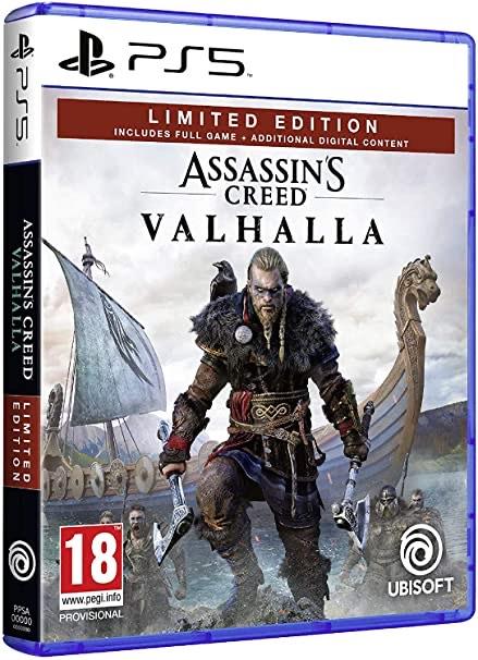 Assassin's Creed Valhalla Édition Limitée sur PS5