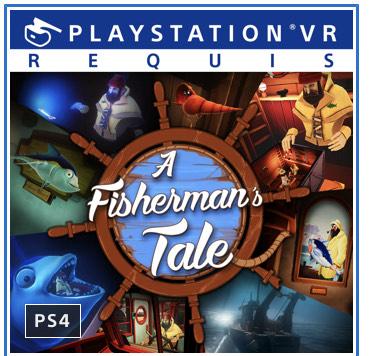 Sélection de jeux PSVR sur PS4 en promotion (dématérialisés) - Ex: A Fisherman's Tale