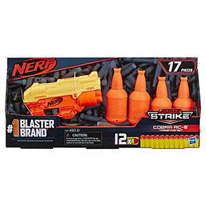 Pistolet Nerf Alphastrike Cobra RC-6 + Fléchettes + Cibles Nerf Elite Officielles