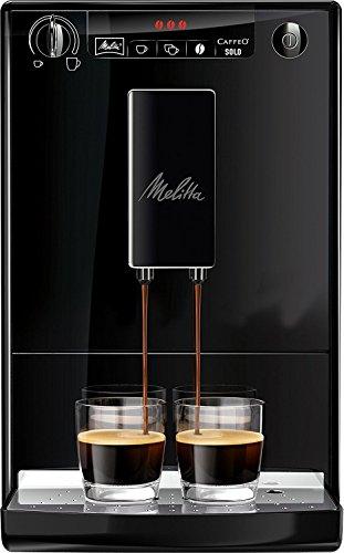 Machine à café automatique Melitta Caffeo Solo E950-222 avec Broyeur à Grains