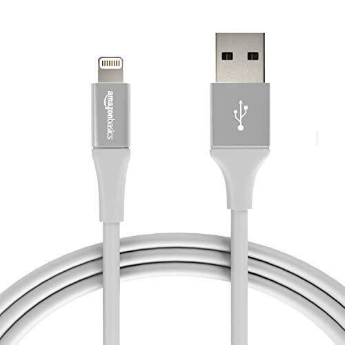 Lot de 12 Câbles USB Amazon Basics - Type A vers connecteur Lightning, 1.8m