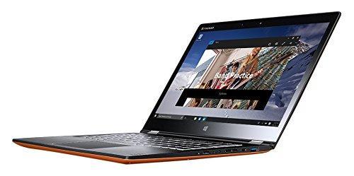 "PC portable 14"" Full HD / tactile Lenovo YOGA 700-14ISK (i7-6500U, 8 Go de RAM, 256 Go en SSD) - Orange"