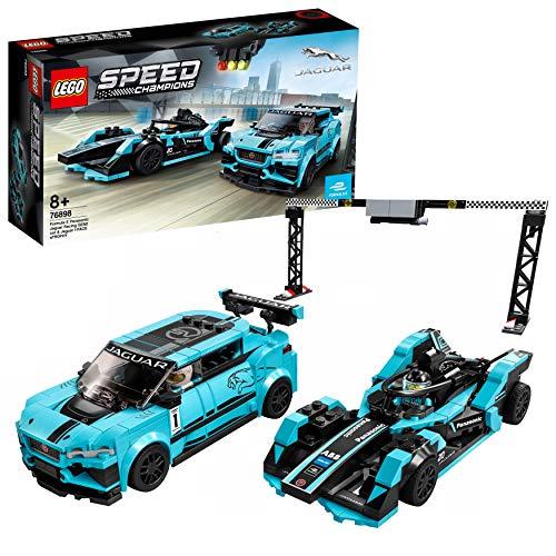 Jouet Lego Speed Champions - Formula E Panasonic Jaguar Racing Gen2 & Jaguar I-Pace Etrophy - 76898
