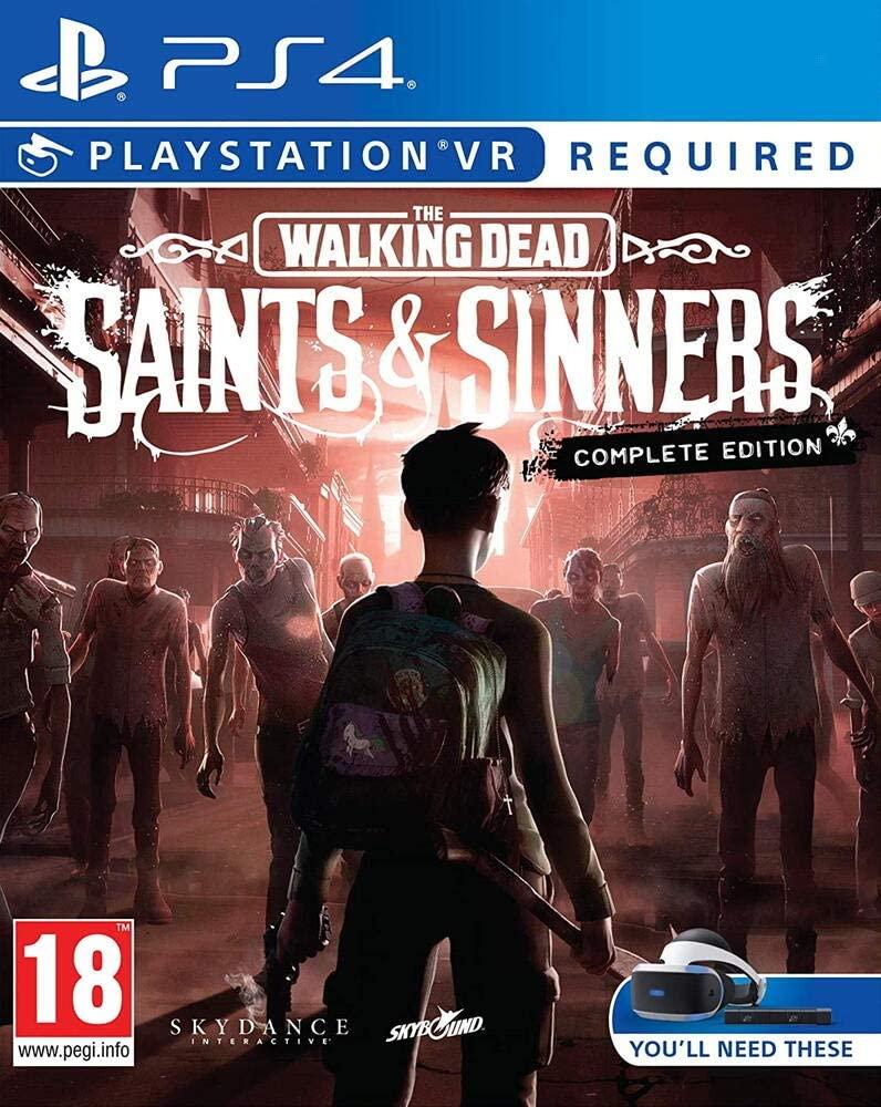 The Walking Dead Saints & Sinners Complete Edition sur PS4 VR
