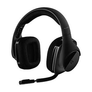 Casque-micro gaming sans fil Logitech G533 - Surround 7.1, DTS Headphone:X