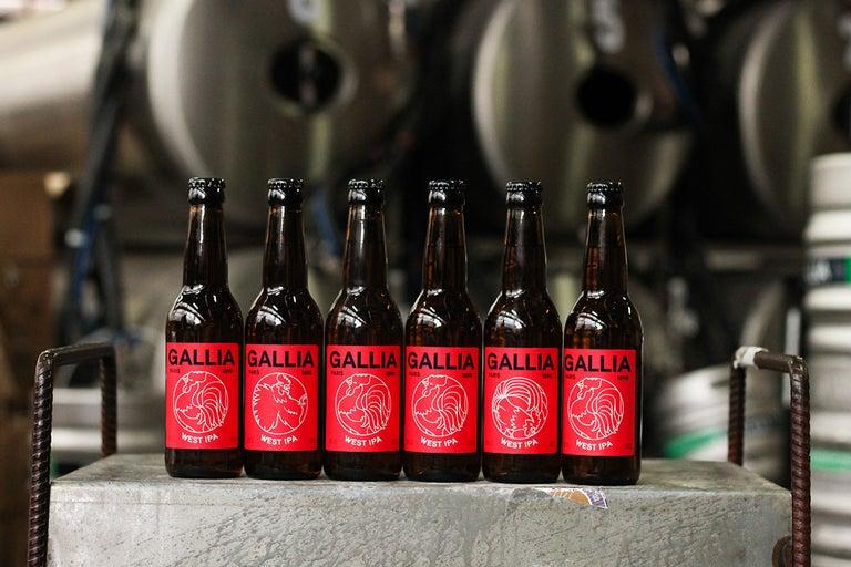 Pack de 6 bières Gallia West IPA - Gallia Express Montreuil (93)
