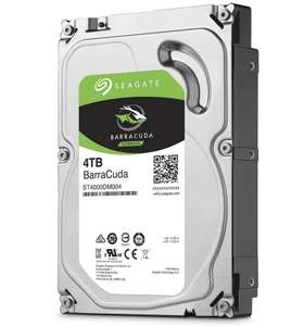 "Disque dur interne 3.5"" Seagate BarraCuda - 4 To, 5400 tr/min, SMR"