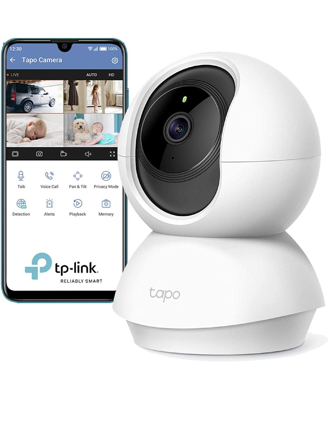 Caméra Surveillance WiFi TP-Link Tapo C200 - 1080p, Blanc