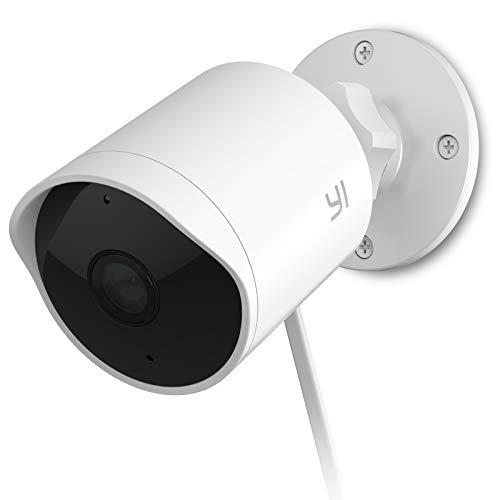 Caméra de surveillance extérieur sur IP Yi - 1080p, Wi-Fi, avec service cloud (vendeur tiers)