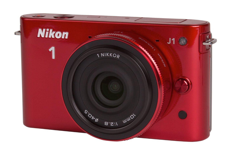 Nikon J1 + objectif 10mm rouge