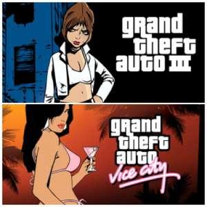 Grand Theft Auto III ou Vice City sur PC (Dématérialisé - Rockstar Games Launcher)