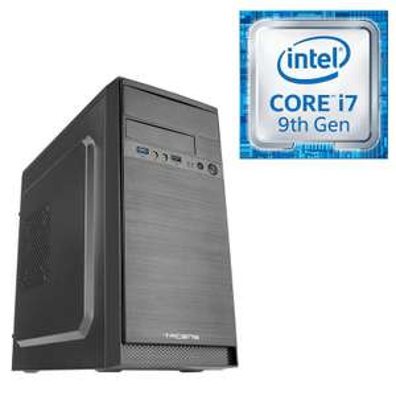 Pc fixe Powerbasics Tacen - Intel Core i7-9700, 16 Go de RAM, SSD 512 (sans OS)