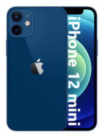 "Smartphone 5.4"" Apple iPhone 12 Mini 5G - Full HD+ Retina, A14, 4 Go de RAM, 128 Go"