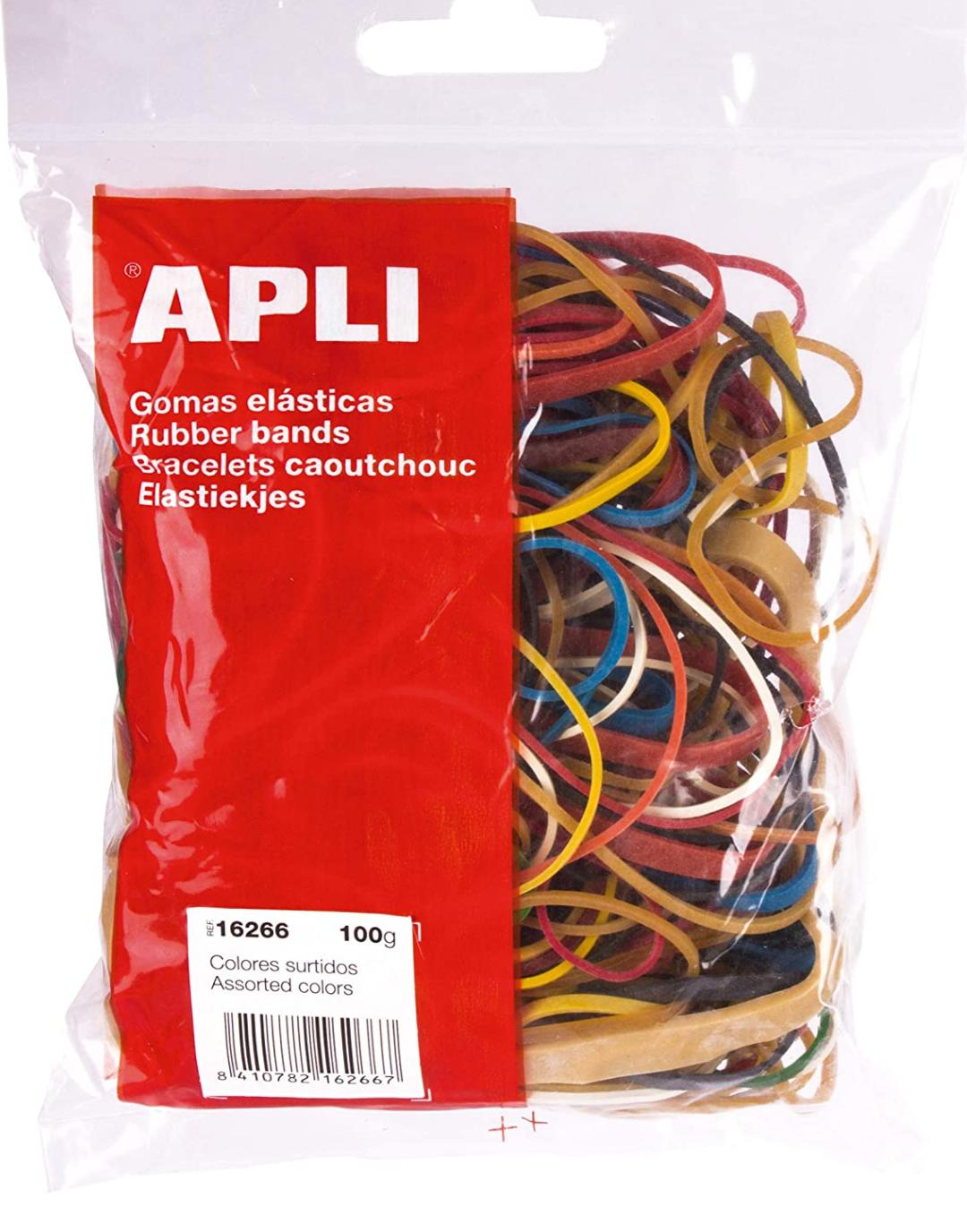 Assortiment d'élastiques Apli - 100g