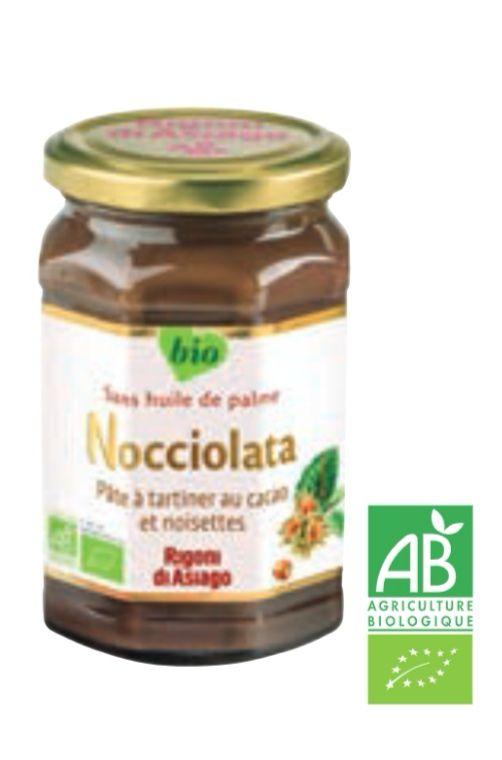 Lot de 3 pots de pâte à tartiner Bio Nocciolata Rigoni di Asiago - 3 x 270g