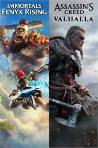 Pack Assassin's Creed Valhalla + Immortals Fenyx Rising sur Xbox One & Series X S (Dématérialisé - store BR)