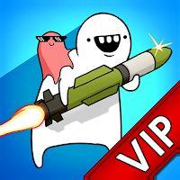 Jeu [VIP] Missile Dude RPG: Tap Tap Missile gratuit sur Android