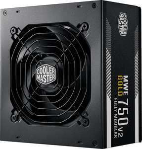 Alimentation PC modulaire Cooler Master - 750W MWE GOLD V2 ATX 80+ Gold (tones.be)