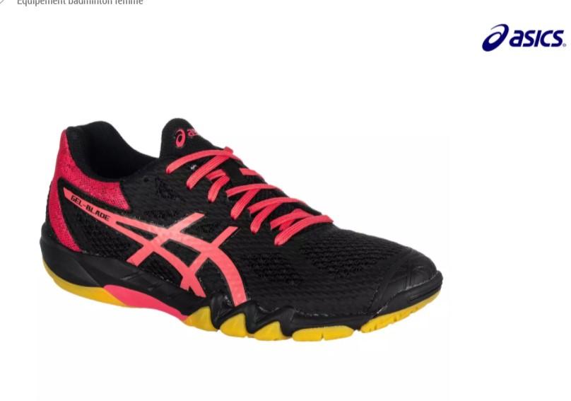 Chaussure de badminton femme Asics Gel Blade 7 (Pointure 38 ou 39)