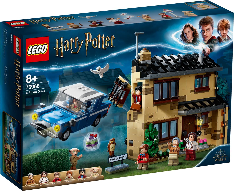 Jouet Lego Harry Potter - 4 Privet Drive (75968)