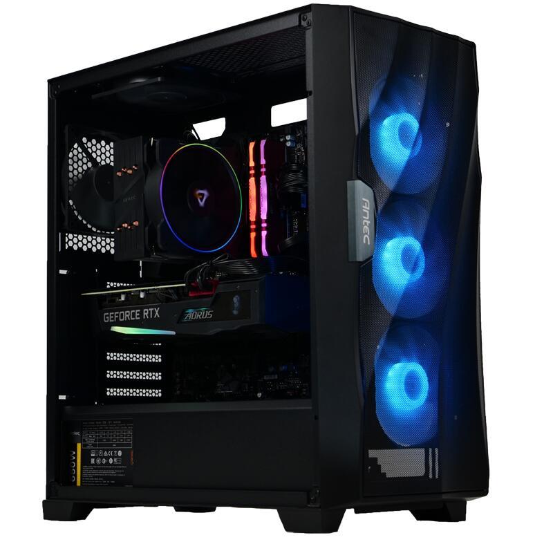 Ordinateur Cybertek Blackbird - i5-10600KF, RTX-3070 (8 Go), 16 Go de RAM, 1 To en SSD, Gigabyte Z490 Gaming X, Antec 650W, sans OS