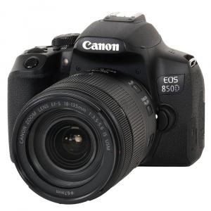 Kit appareil photo numérique Canon EOS 850D (24.2 Mpix, CMOS) + objectif 18-135 mm f/3.5-5.6 IS USM - Camara.net