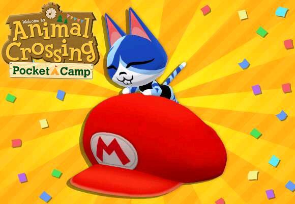 Casquette Mario offerte pour Animal Crossing: Pocket Camp sur Android & iOS (Dématérialisé)