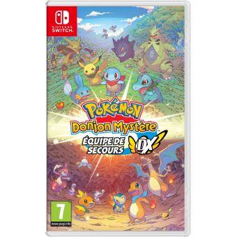 Pokémon Donjon Mystère Equipe de Secours DX sur Switch