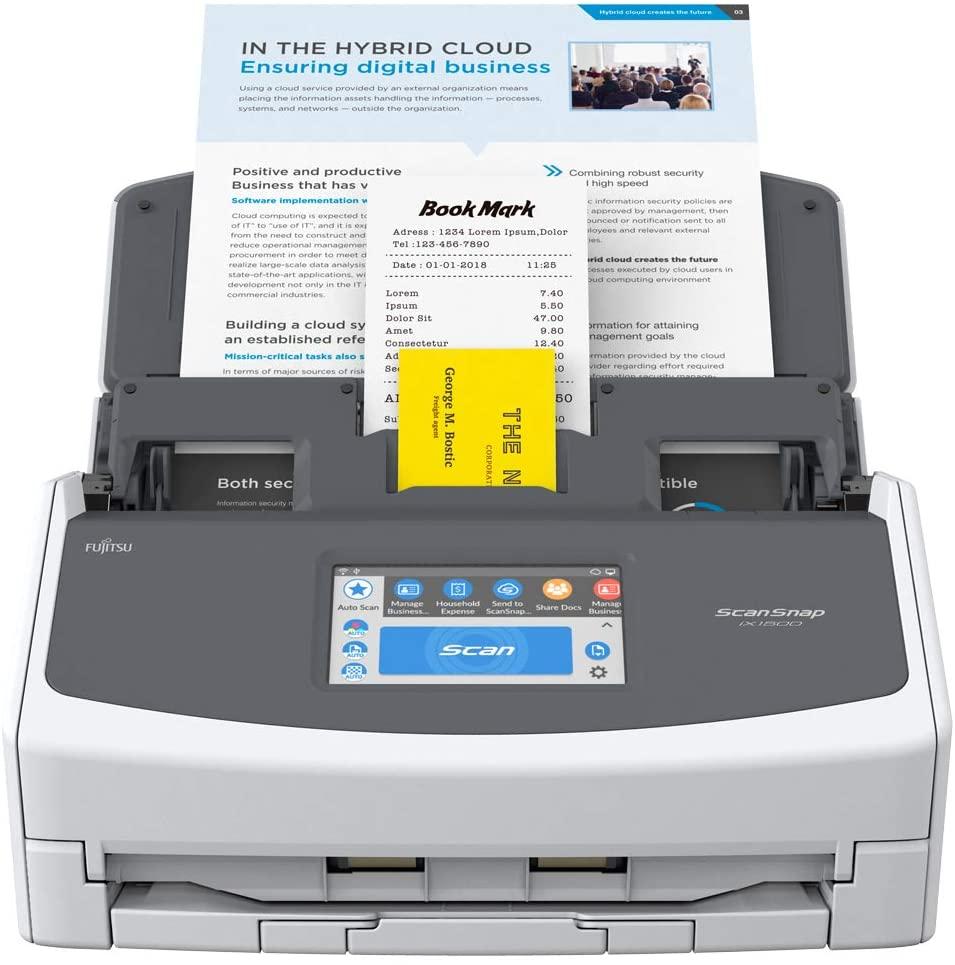 Scanner Pro Fujitsu ScanSnap IX 1500