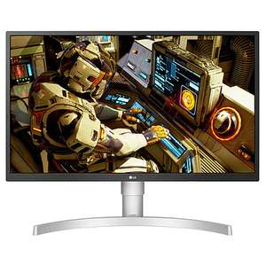 "Ecran PC 27"" LG UltraFine 27UL550-W - IPS, UHD 4K, 3840x2160, 5ms, sRGB 98%, HDR, FreeSync, Ajustable Hauteur, Pivotable"
