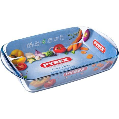 Plat à lasagnes rectangulaire en verre Pyrex Essential - 40 x 27 cm