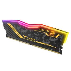 Kit mémoire RAM T-Force Delta TUF Alliance RGB - 32 Go (2 x 16 Go), DDR4, 3200 MHz, CL16